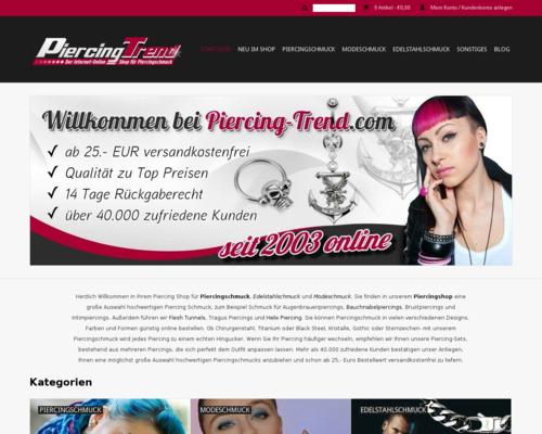 Piercing Trend Screenshot