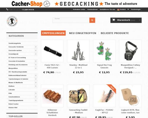 Cacher Shop Screenshot