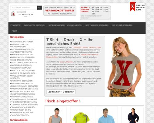 Tshirt-Druck-X Screenshot