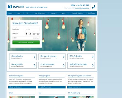 Toptarif Screenshot