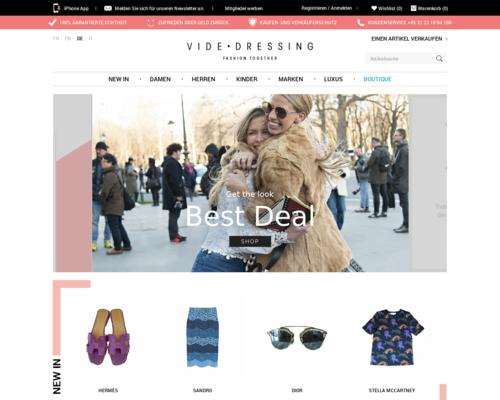 Vide Dressing Screenshot