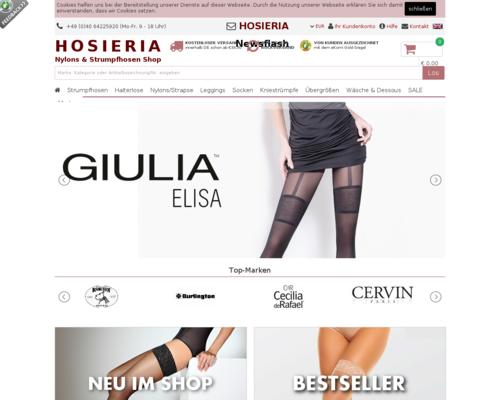 Hosieria Screenshot