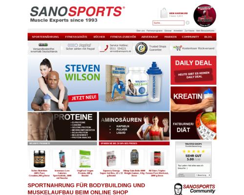 Sanosports Screenshot
