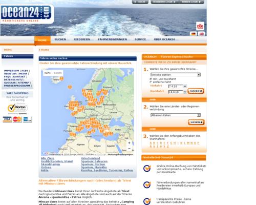 Ocean24 Screenshot