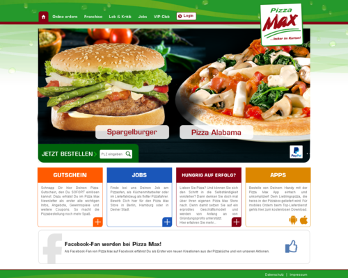 Pizza Max Screenshot