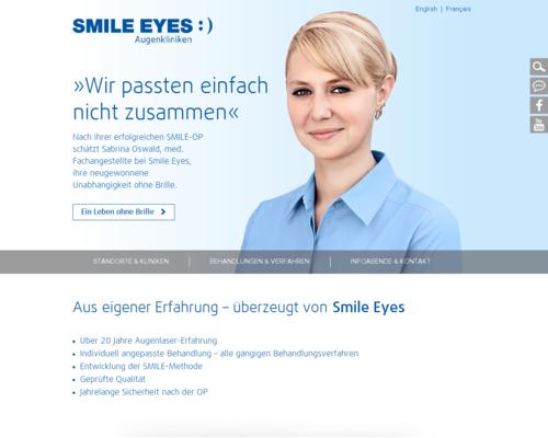 Smile Eyes Screenshot