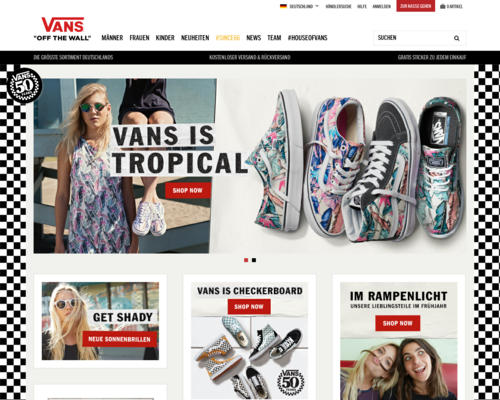 Vans Screenshot