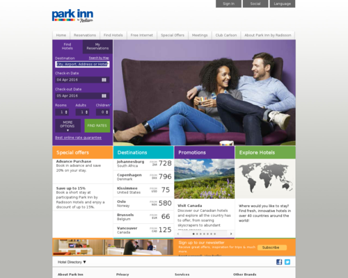 Park Inn Screenshot
