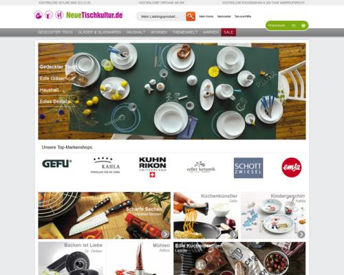 Neue Tischkultur Screenshot