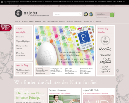 NAJOBA Screenshot