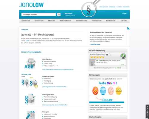 JANOLAW Screenshot