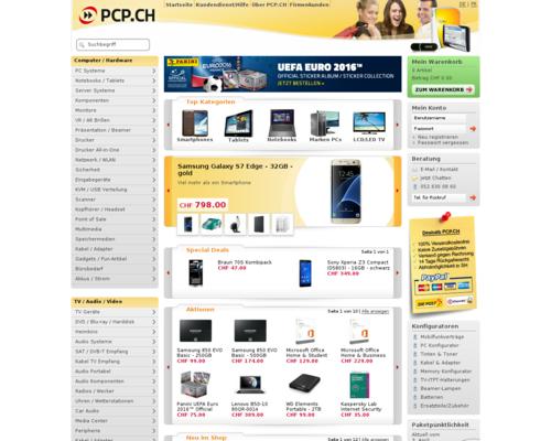 PCP.CH Screenshot