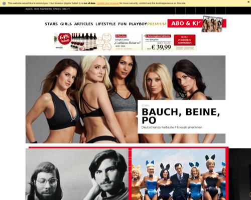 Playboy Screenshot