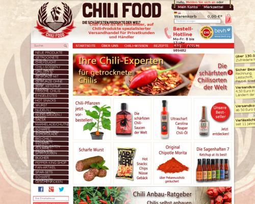 Chili Food Screenshot