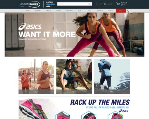 Sports Shoes Screenshot