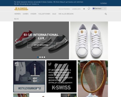K-Swiss Screenshot
