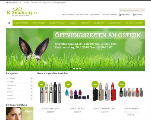 E-Smoking Screenshot