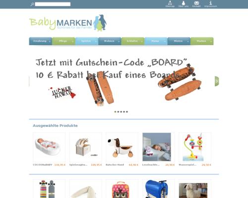 Babymarken.de Screenshot