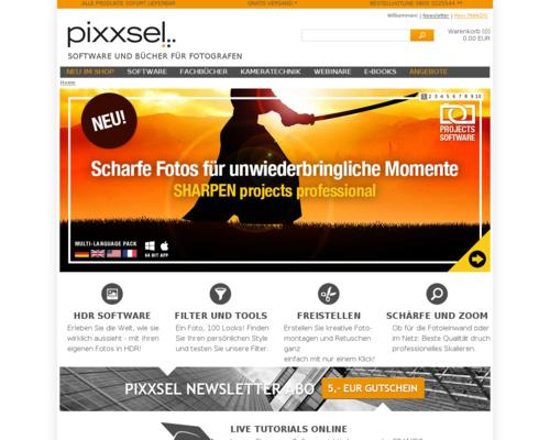 Pixxsel Screenshot