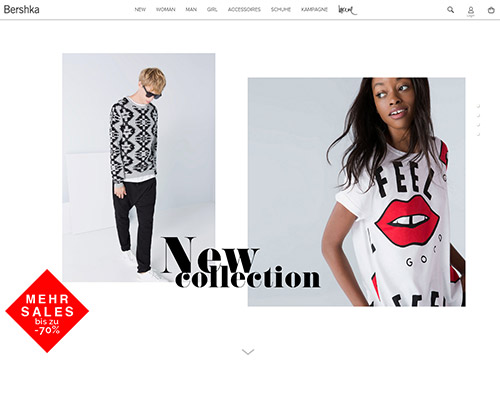 Bershka Screenshot