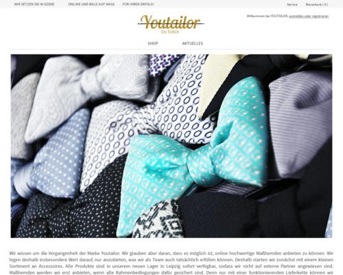 Youtailor Screenshot