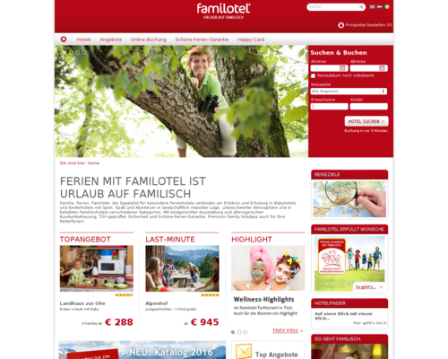 Familotel Screenshot