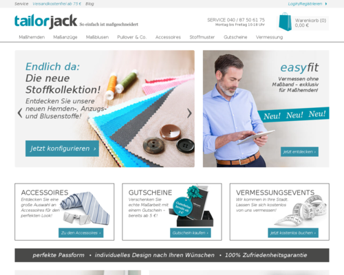 tailorjack Screenshot