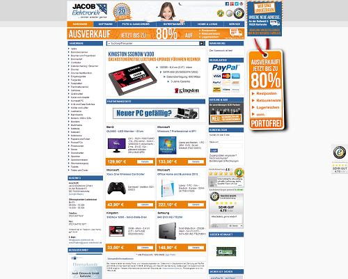 Jacob Elektronik Screenshot