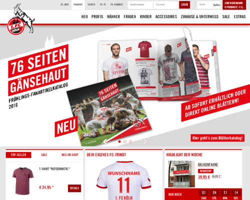 fc-fanshop.de Screenshot