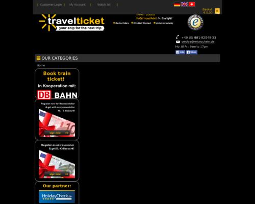 Reiseschein Screenshot