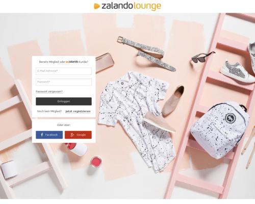 Zalando Lounge Screenshot