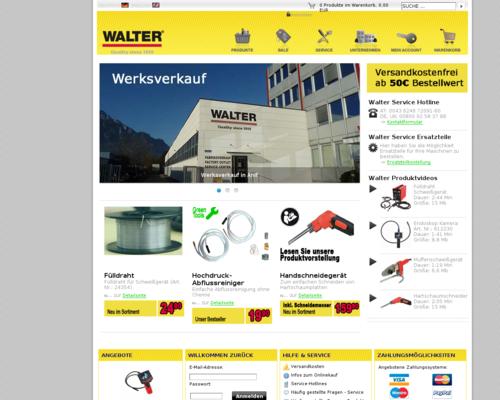Walter Werkzeuge Screenshot