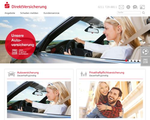 Sparkassen DirektVersicherung Screenshot