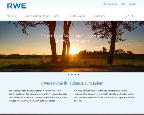 RWE-SmartHome Screenshot