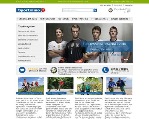 Sportolino Screenshot