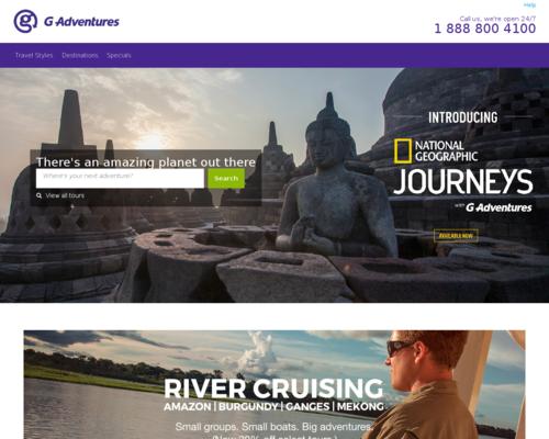 G Adventures Screenshot