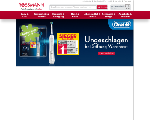 Rossmann Screenshot