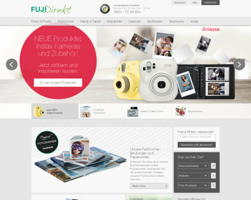 FUJIDirekt Screenshot