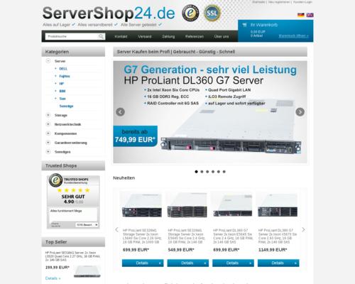 ServerShop24 Screenshot