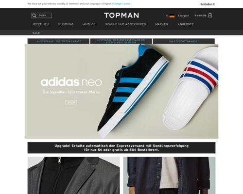 TOPMAN Screenshot