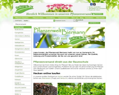 Pflanzenwelt Biermann Screenshot