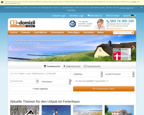 e-domizil Screenshot