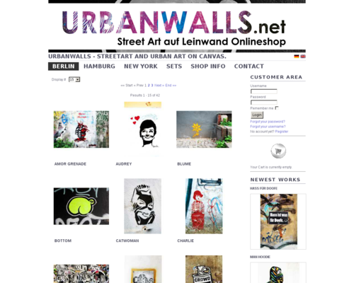 Urbanwalls Screenshot
