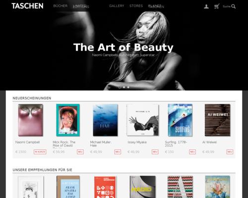 Taschen.com Screenshot
