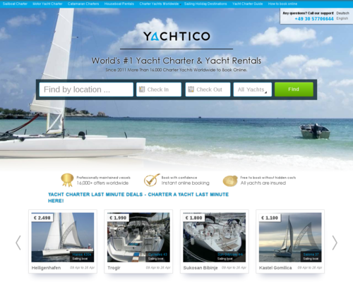 Yachtico Screenshot