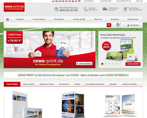 CEWE PRINT Screenshot