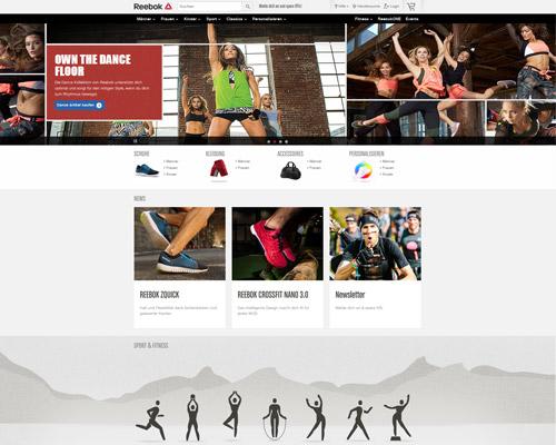 Reebok Screenshot