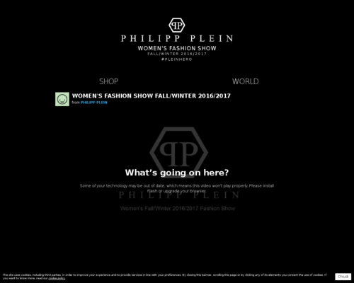 Philipp Plein Screenshot