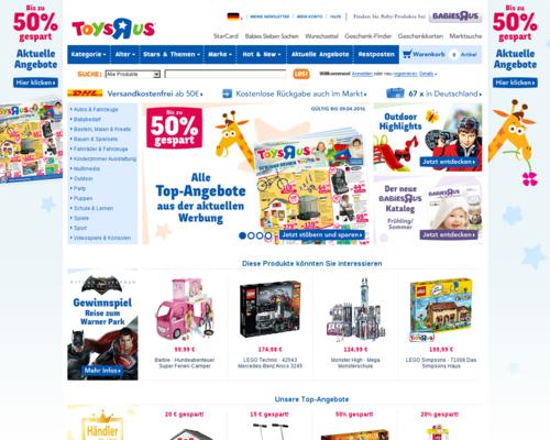 ToysRus Screenshot