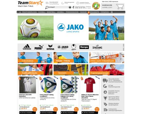 TeamStars Screenshot